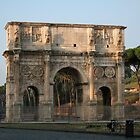 The Arch of Constantine by hjaynefoster