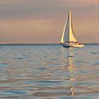 Serene Sailing by Peter Hodgson