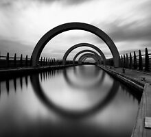 Falkirk Wheel - Scotland by Mathew Roberts