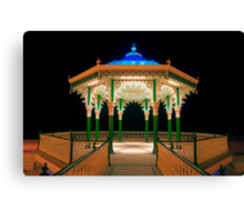 The Bandstand - Brighton - England Canvas Print