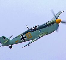 Me 109 Bouchon - Shoreham Airshow 2010 by Colin J Williams Photography