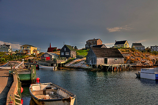 Peggy's Cove by Kate Adams