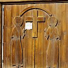 Hand Carved Church Doors by David DeWitt