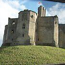 Warkworth castle by GEORGE SANDERSON