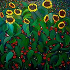 Family of Sunflowers by Anthony Mendivil