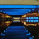 UNDER THE ROAD BRIDGE MARINE LAKE by shaun-e
