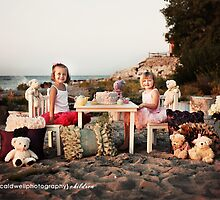 Tea Party on the Beach.... by Kristen  Caldwell