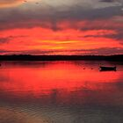 Hadley Point Sunset II by MDossat