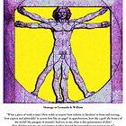 Vitruvian Man by Randy Shields