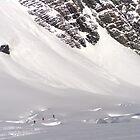 Skiing the Tasman by emjaynie