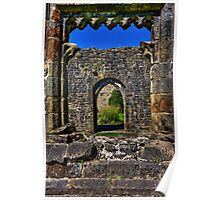 Through the arched window Poster