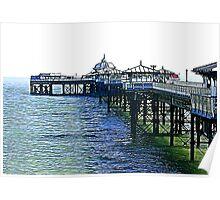 The Pier -Llandudno -North Wales Poster