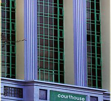 Colours of Geelong - The old Courthouse by Deb Gibbons