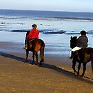 On the Beach #2 by Trevor Kersley