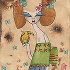 Rainbow Bird Empress by Beatrice  Ajayi