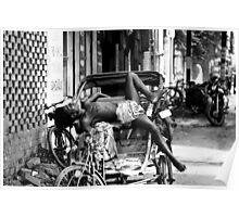 Rickshaw Break Poster
