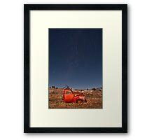 Cosmic Chevy Framed Print