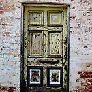 A Yellow Door by janewiebenga
