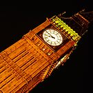 London Big Ben at Night - Different perspective by DavidGutierrez