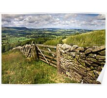 The Lancashire countryside Poster