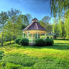Mill Springs Park Gazebo by C David Cook