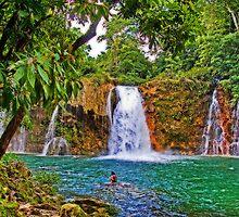 Welib-Ha Waterfalls by vadim19