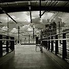 Makkassan station by Laurent Hunziker