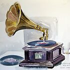 Old Gramophone  by Karin Zeller