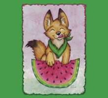 Melon Coyote - Clothing and Stickers! by CGafford