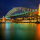 Bridge  from Walsh bay by donnnnnny