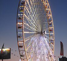 Big Wheel of Augillon-sur-Mer by Pamela Jayne Smith