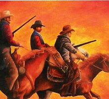 """""""Posse"""" by Laurie Holman"""