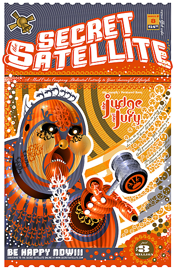 The Secret Satellite Mail Order Flyer #8 by Kristian Olson