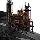 Allegheny Ludlum Steel Mill by Luuezz