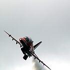 Red Arrow Overhead by gemtrem