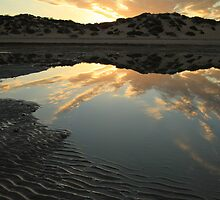 A Reflecting Dune - McLeods Beach Exmouth WA Australia by cookieshotz
