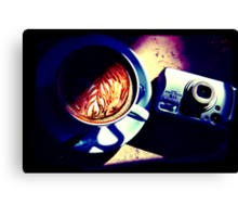 Coffee. Lomography Canvas Print