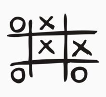 Noughts & Crosses by kickkickpunchyo