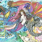 Fantasy Mermaid World by Melissa Jade Edwards