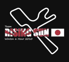 Team Rising Sun - Black Tshirt Version by silverra23