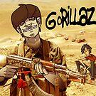 Gorillaz. by Hugh Freeman