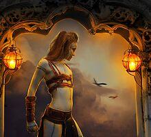 Warrior by Amalia Iuliana Chitulescu