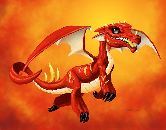 WELSH INFERNO by SMorrisonArt