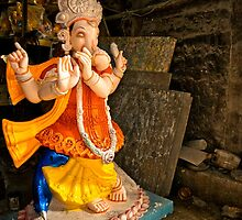 Moods of Lord Ganesh & the making of idols #4 by Prasad