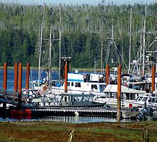 Working Harbor #1 (Masset, Haida Gwaii, British Columbia, Canada, August 2010) by Edward A. Lentz
