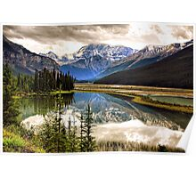 Along the Icefield Parkway, Jasper NP Poster