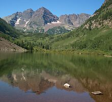 Maroon Bells, Colorado by saxonfenken