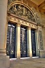 Leeds Town Hall Main Doors by Colin Metcalf