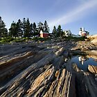 Pemaquid Point Light by Mark Van Scyoc