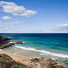 Susan Gilmore Beach, Newcastle NSW, Australia by Melina Roberts